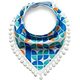 Fancyku Baby Drool Bibs Double Triangle Towel For Drooling And Teething Organic Cotton Super Waterproof Stylish Design