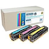 Refresh Cartridges Toner Kopie PATRONE Ersatz für HP CF371AM (mehrfarbig)