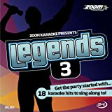 Picture Of Zoom Karaoke CD+G - Legends Volume 3 - Elton John/Billy Joel/Rod Stewart/Barry Manilow [Card Wallet]