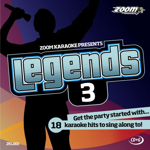 Zoom Karaoke CD+G - Legends Volume 3