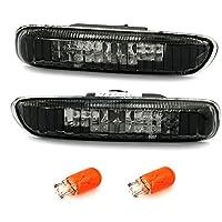 AD Tuning GmbH & Co. KG 960020 Seitenblinker Set, Klarglas Schwarz