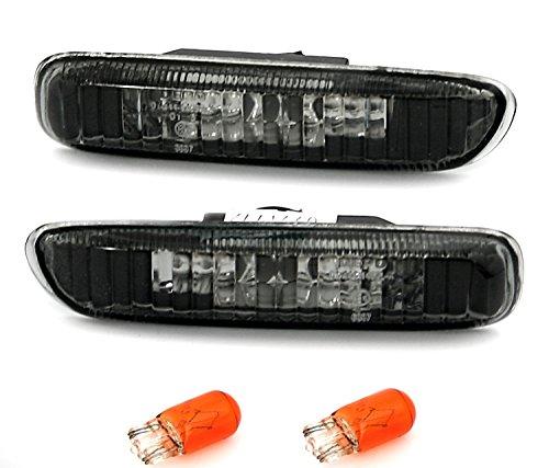 ad Tuning GmbH & Co. KG 960020, Set frecce laterali, vetro trasparente, nero