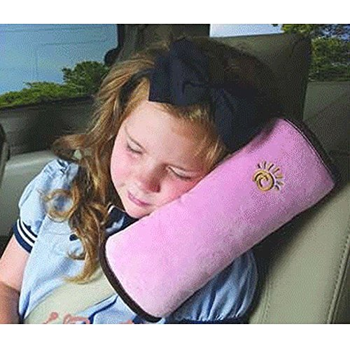 Yihya Baby Kinder Auto Car Gurtpolster Kissen Sicherheitsgurt Polster Autositz Gürtel Pillow Schulterschutz Reisekissen - Rosa(Pink) (Und Rosa Blau Bettdecken)