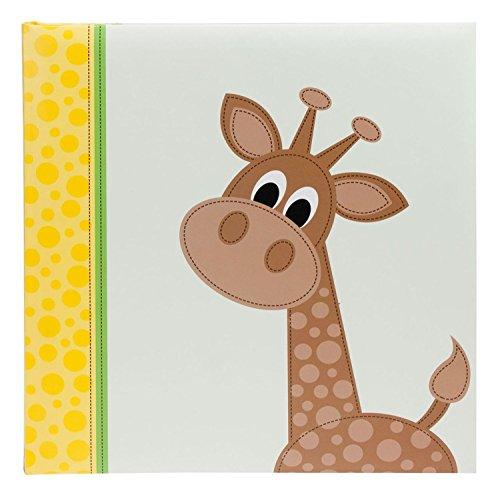 Goldbuch 27106 Fotoalbum Cute Giraffe, 60 Seiten mit Pergamin, ca. 30 x 31 cm