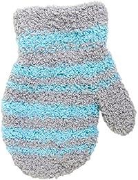 Baby Handschuhe Fäustlinge aus Plüsch, Größe 0, 1 und 3, Alter 0-5 Jahre