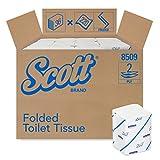 Scott Toilettenpapier, Einzelblatt (weiß, Standard) 36 Päckchen x 220 Blätter, 1er Pack (1 x 36 Stück)