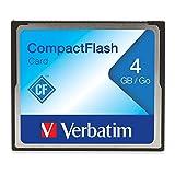 Verbatim 2GB CompactFlash Speicherkarte 47012 schwarz 4GB