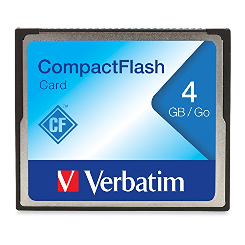 Verbatim 47012 CompactFlash Speicherkarte, 2 GB schwarz 4GB 2. Generation 4gb Mp3-player