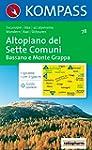 78: Altopiano Dei Sette Comuni 1:50, 000
