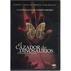 EL CAZADOR DE DINOSAURIOS (A SOUND OF THUNDER) [NTSC/REGION 1 & 4 DVD. Import-Latin America]