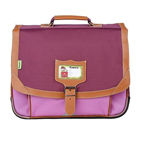 Cartable 38 violet-parme Tann's ICONIC