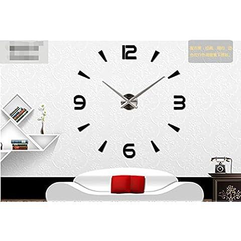 stile europeo e americano, parete in acrilico creativo dell'orologio