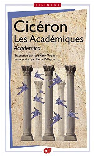 Lire Les Académiques / Academica - édition bilingue pdf, epub ebook