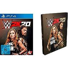 WWE 2K20 Standard Edition inkl. Steelbook (exkl. bei Amazon.de) - [PlayStation 4]