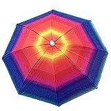1PS tragbar Regenschirm Sun Schutz für Camping Angeln Wandern, Schillernd