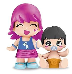 Pinypon - Figurita con bebé sorpresa, pack F (Famosa 700014088)