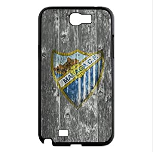 Malaga Team Logo Samsung Galaxy note 2 Note II case for a Special Xmas Gift