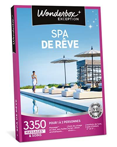 Wonderbox - Coffret cadeau noel pour femme - SPA DE RÊVE - 3350 massages et soins en...