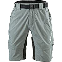 SILVINI Rango - Pantalones de Ciclismo para Hombre, Primavera/Verano, Hombre, Color Gris - Cloud-Lime, tamaño S