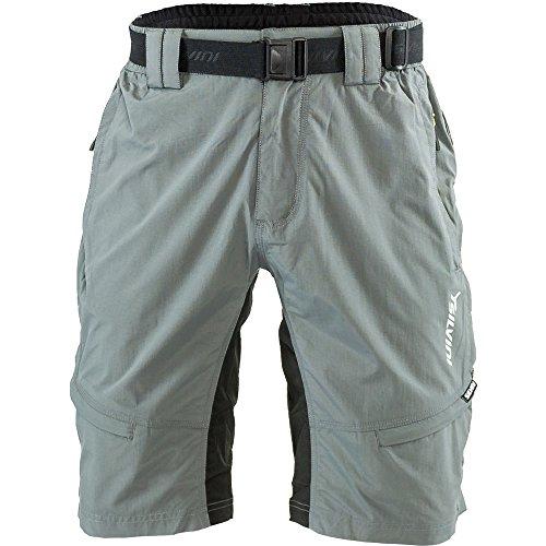 SILVINI - Pantaloni Rango da Mountain-Bike, da Uomo, Uomo, MTB Hose Rango, Cloud-Lime, 5XL