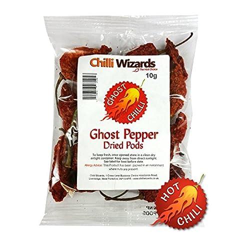 Dried Chilli - Naga Jolokia - Ghost Pepper Dried Chilli