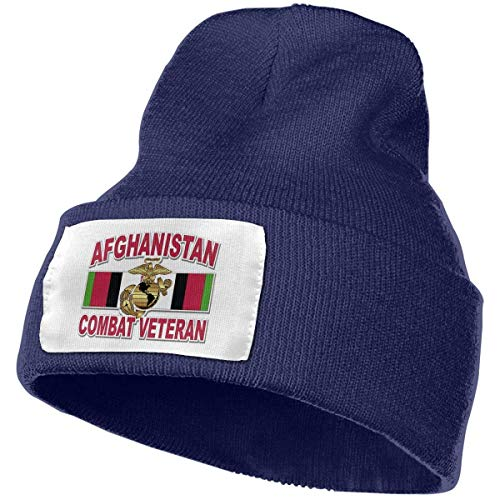 ASKYE Afghanistan Campaign Veteran Unisex Knitted Hat ILY Knitting Beanies Caps Black - Girls-cable Knit Tights
