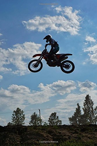 Motocross Journal: 150 page lined notebook/diary por Cool Image