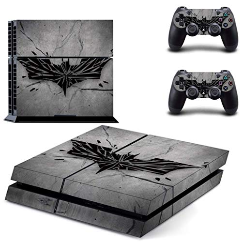 YISHO Dark Element Vinyl Skins Sticker for PS4 Playstation 4 And 2 Controllers Skins Cover