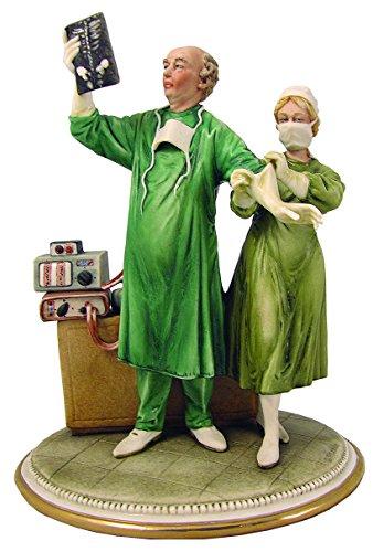 Capodimonte Porzellan Chirurg Figur
