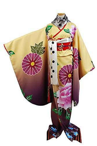 Puella Magi Madoka Magica Akemi Homura Printed Kimono Cosplay Kostüm Damen Maßanfertigung