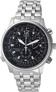 Citizen - AS4020-52E - Montre Homme - Quartz chronographe - Bracelet en acier
