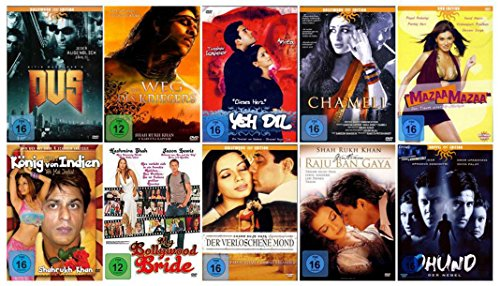 Nice Price Edition - BOLLYWOOD FAN PAKET 2 (10 Filme + Bonus ) [11 DVDs]