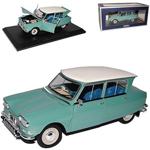 alles-meine.de GmbH Citroen AMI 6 Jade Grün Weisses Dach 1961-1969 1/18 Norev Modell Auto - Citroen Modell