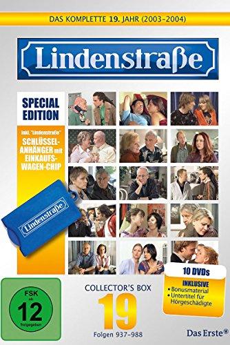 Lindenstraße - Das komplette 19. Jahr (Special Edition mit Einkaufswagen-Chip, 10 DVDs)