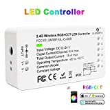 Zigbee Controller RGB +CCT LED Controller Control Unit Zigbee Compatible 12-24 Volt for LED Strips, Hinges, Cable Spots and Outdoor Spotlight