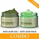 Bella Vita Organic Combo Acne Scars Removal Face Cream Gel & Face Pack