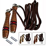 Best RDX jump rope - RDX Adjustable Leather Gym Skipping Jump Speed Rope Review