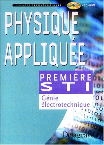 Physique appliquée génie electrotechnique, 1ère STI