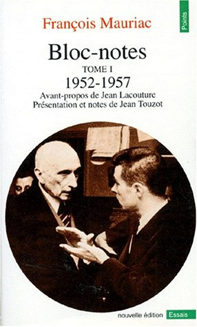 Bloc-notes, tome 1 : 1952-1957