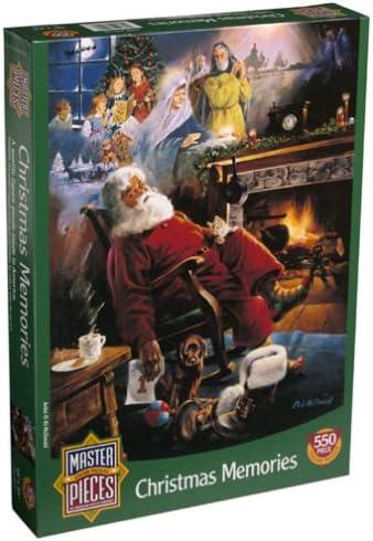 Christmas Memories 550pc Puzzle by Master Pieces   De La Mode