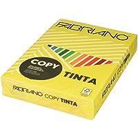 Fabriano F60621297-Confezione di carta, 500 fogli formato A4, 80 g, colore Giallo Forte