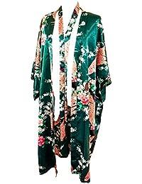 suchergebnis auf f r kimono morgenmantel lang bekleidung. Black Bedroom Furniture Sets. Home Design Ideas
