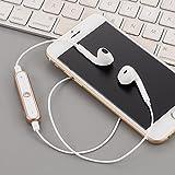 Chirde Bluetooth Kopfhörer in Ear V4.1 10 Meter Reichweite magnetisch Sport Kopfhörer Ohrhörer für iPhone, Apple Watch, Android, Echo Dot und Weitere Geräte (Gold)
