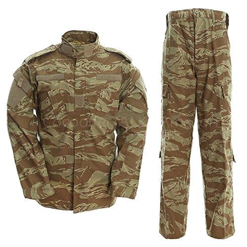 ALK Softair Paintball Tarn-Uniform Set, Jacke/Hose, Tri color, Large -