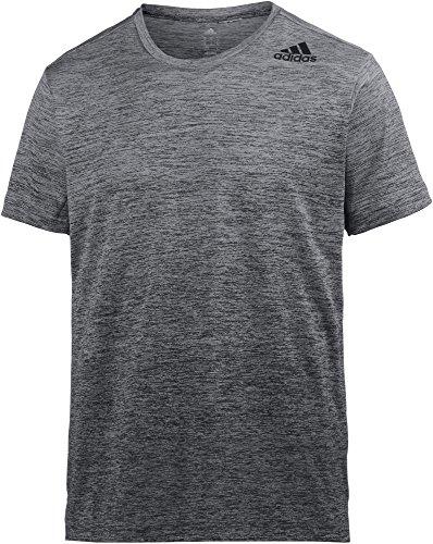 Adidas Running-shirt (adidas Herren Freelift Grad Shirt, Grau, XL)