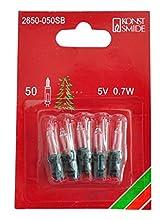 Konstsmide 2650-050SB Ampoule, Acrylique, 2G7, 25 W, Clair