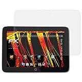 atFolix Schutzfolie kompatibel mit HP Slate 10 HD Bildschirmschutzfolie, HD-Entspiegelung FX Folie (2X)