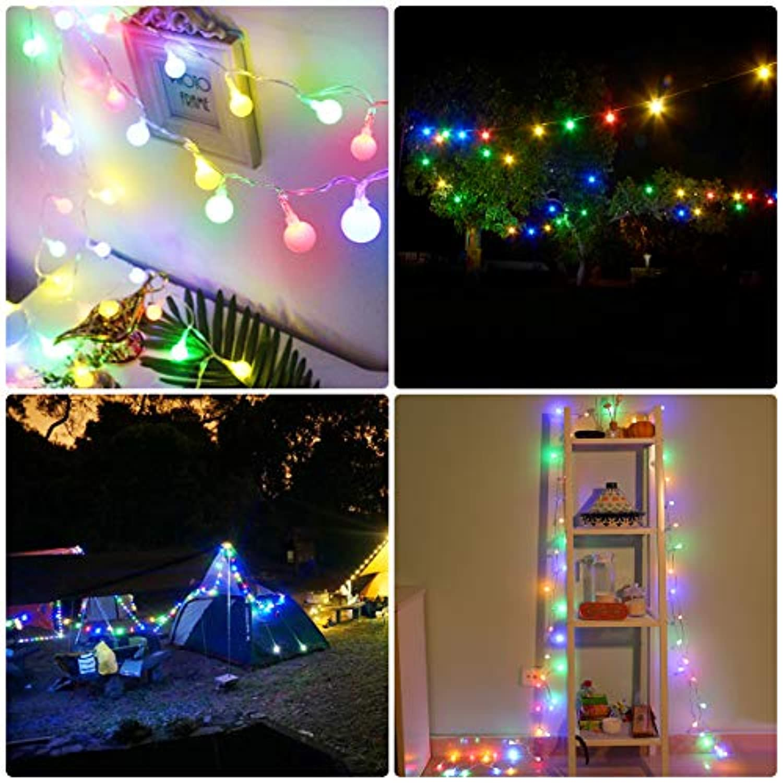 Halloween Noël Multicolore Jardin Shinepick Guirlande