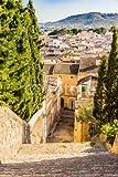 druck-shop24 Wunschmotiv: View of an rustic mediterranean old town #102014074 - Bild hinter Acrylglas - 3:2-60 x 40 cm/4