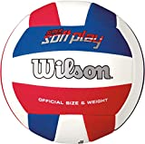 Wilson Super Soft Play Volleyball NS Rot/Weiß/ Blau